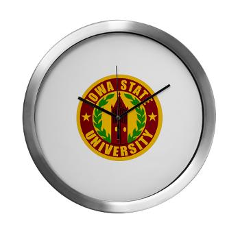 iastate - M01 - 03 - SSI - ROTC - Iowa State University - Modern Wall Clock