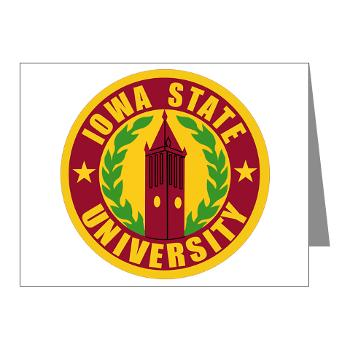 iastate - M01 - 02 - SSI - ROTC - Iowa State University - Note Cards (Pk of 20)