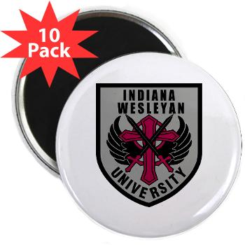 "indwes - M01 - 01 - SSI - ROTC - Indiana Wesleyan University - 2.25"" Magnet (10 pack)"