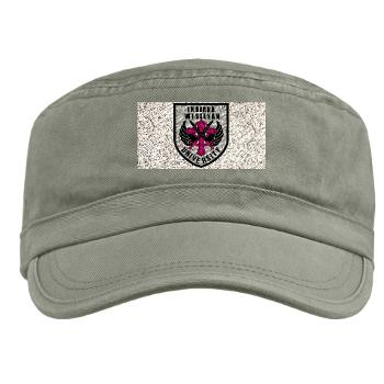 indwes - A01 - 01 - SSI - ROTC - Indiana Wesleyan University - Military Cap