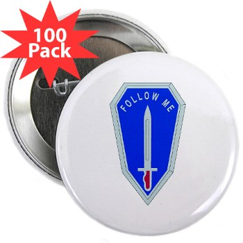 "infantry - M01 - 01 - DUI - Infantry Center/School - 2.25"" Button (100 pack)"