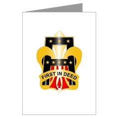 1A - M01 - 02 - DUI - First United States Army Greeting Cards (Pk of 20)
