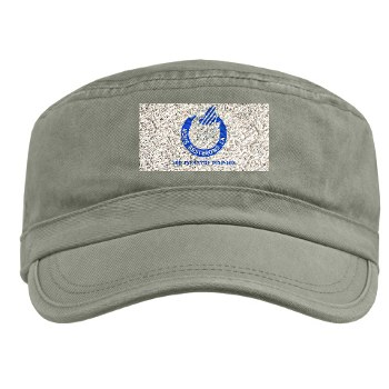 3ID - A01 - 01 - DUI - 3rd Infantry Division with Text Military Cap