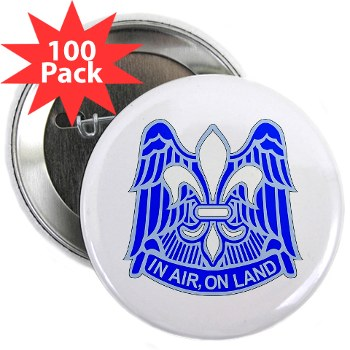 "82DV - M01 - 01 - DUI - 82nd Airborne Division 2.25"" Button (100 pack)"