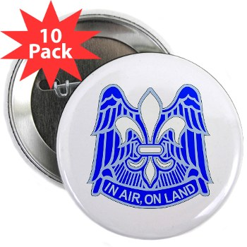 "82DV - M01 - 01 - DUI - 82nd Airborne Division 2.25"" Button (10 pack)"