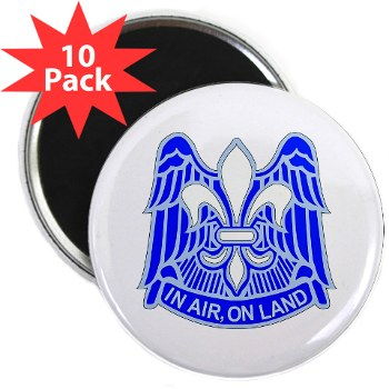 "82DV - M01 - 01 - DUI - 82nd Airborne Division 2.25"" Magnet (10 pack)"