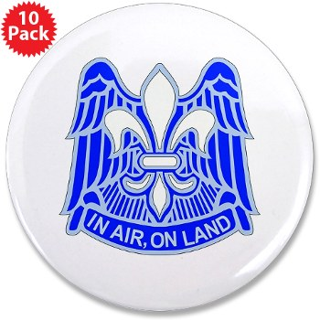 "82DV - M01 - 01 - DUI - 82nd Airborne Division 3.5"" Button (10 pack)"