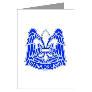 82DV - M01 - 02 - DUI - 82nd Airborne Division Greeting Cards (Pk of 10)