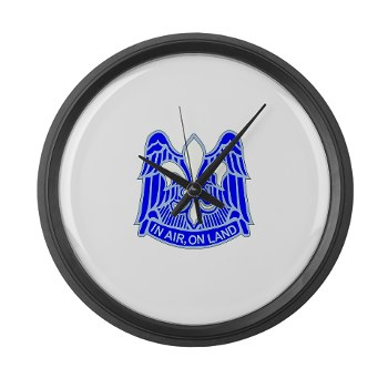 82DV - M01 - 03 - DUI - 82nd Airborne Division Large Wall Clock