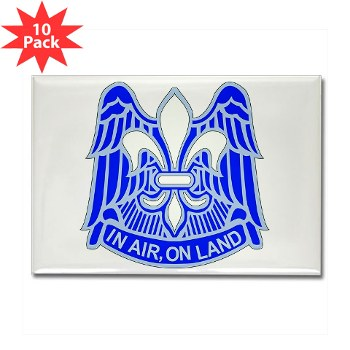 82DV - M01 - 01 - DUI - 82nd Airborne Division Rectangle Magnet (10 pk)