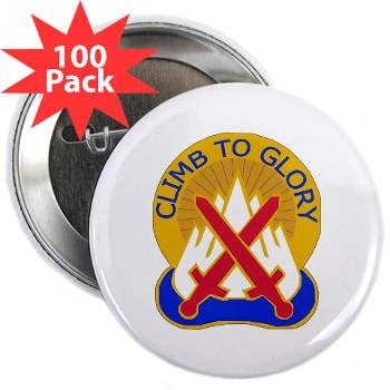 "10mtn - M01 - 01 - DUI - 10th Mountain Division 2.25"" Button (100 pack)"