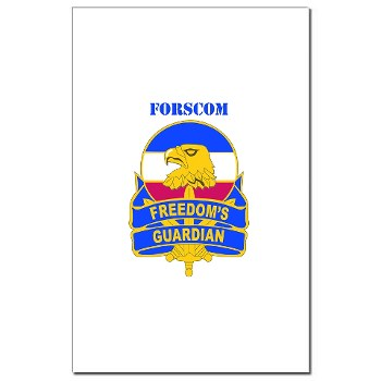FORSCOM - M01 - 02 - DUI - FORSCOM with Text Mini Poster Print