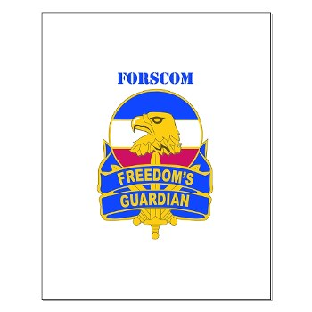 FORSCOM - M01 - 02 - DUI - FORSCOM with Text Small Poster
