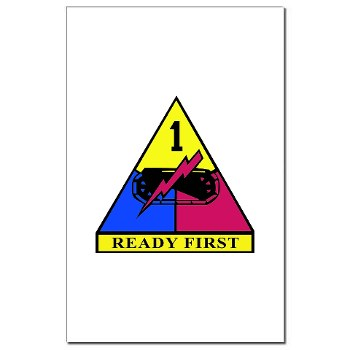 1HBCTRF - M01 - 02 - DUI - 2nd Heavy BCT Ready First Mini Poster Print
