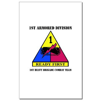 1HBCTRF - M01 - 02 - DUI - 2nd Heavy BCT Ready First with Text Mini Poster Print