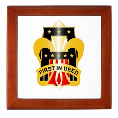 1A - M01 - 03 - DUI - First United States Army Keepsake Box