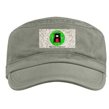 01AE - A01 - 01 - First Army Division East with Text Military Cap
