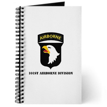 101ABN - M01 - 02 - SSI - 101st Airborne Division with Text Journal