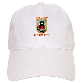 01AW - A01 - 01 - SSI - First Army Division West with Text - Cap