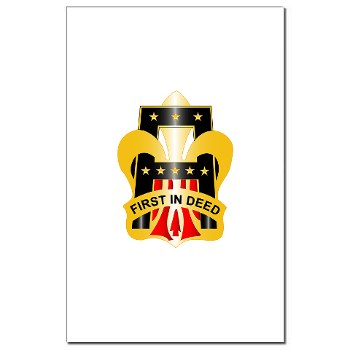 1A - M01 - 02 - DUI - First United States Army Mini Poster Print