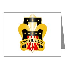 1A - M01 - 02 - DUI - First United States Army Note Cards (Pk of 20)