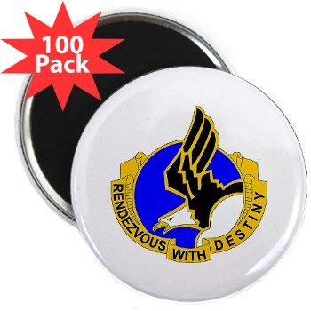 "101ABN - M01 - 01 - DUI - 101st Airborne Division 2.25"" Magnet (100 pack)"