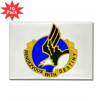 101ABN - M01 - 01 - DUI - 101st Airborne Division Rectangle Magnet (10 pk)