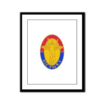 1ID - M01 - 02 - DUI - 1st Infantry Division Framed Panel Print