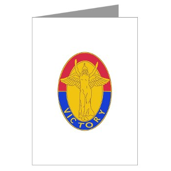 1ID - M01 - 02 - DUI - 1st Infantry Division Greeting Cards (Pk of 10)