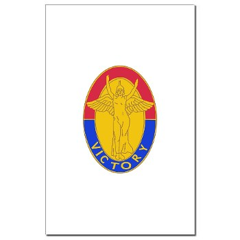 1ID - M01 - 02 - DUI - 1st Infantry Division Mini Poster Print