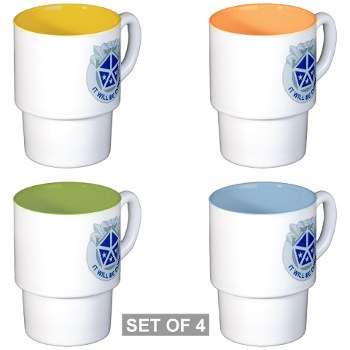 vcorps - M01 - 03 - DUI - V Corps - Stackable Mug Set (4 mugs)