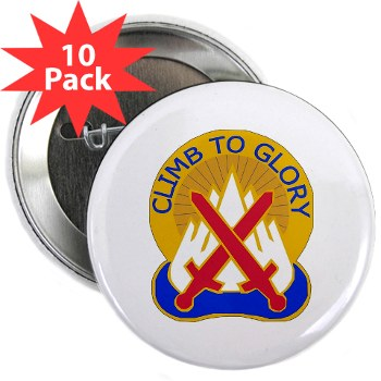 "10mtn - M01 - 01 - DUI - 10th Mountain Division 2.25"" Button (10 pack)"