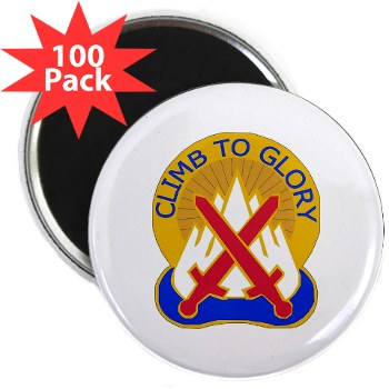 "10mtn - M01 - 01 - DUI - 10th Mountain Division 2.25"" Magnet (100 pack)"