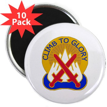 "10mtn - M01 - 01 - DUI - 10th Mountain Division 2.25"" Magnet (10 pack)"