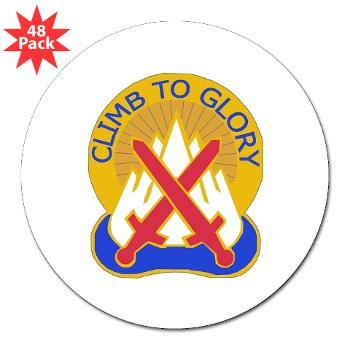 "10mtn - M01 - 01 - DUI - 10th Mountain Division 3"" Lapel Sticker (48 pk)"