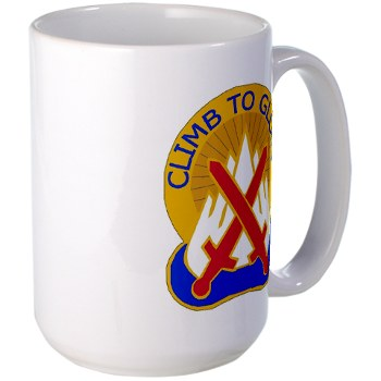 10mtn - M01 - 03 - DUI - 10th Mountain Division - Large Mug