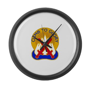 10mtn - M01 - 03 - DUI - 10th Mountain Division - Large Wall Clock