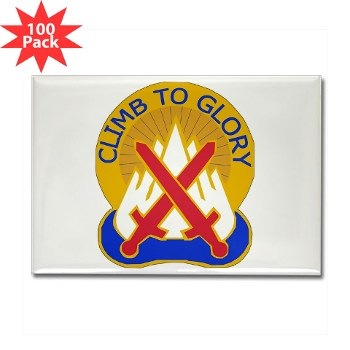 10mtn - M01 - 01 - DUI - 10th Mountain Division Rectangle Magnet (100 pack)