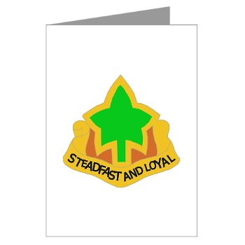 4ID - M01 - 02 - DUI - 4th Infantry Division Greeting Cards (Pk of 10)