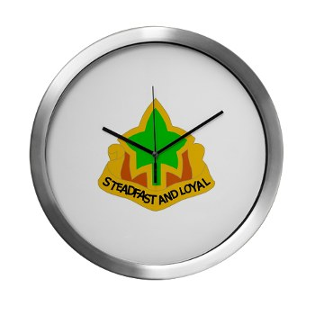 4ID - M01 - 03 - DUI - 4th Infantry Division Modern Wall Clock