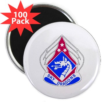 "18ABC - M01 - 01 - DUI - XVIII Airborne Corps 2.25"" Magnet (100 pack)"