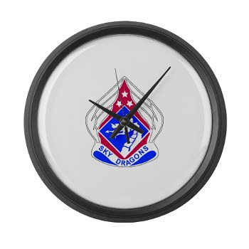 18ABC - M01 - 03 - DUI - XVIII Airborne Corps Large Wall Clock