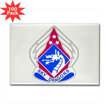 18ABC - M01 - 01 - DUI - XVIII Airborne Corps Rectangle Magnet (100 pack)