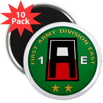 "01AE - M01 - 01 - First Army Division East 2.25"" Magnet (10 pack)"