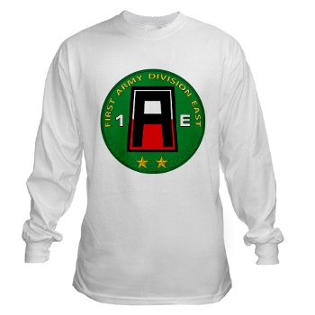 01AE - A01 - 03 - First Army Division East Long Sleeve T-Shirt