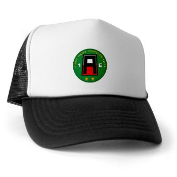 01AE - A01 - 02 - First Army Division East Trucker Hat
