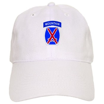 10mtn - A01 - 01 - SSI - 10th Mountain Division Cap