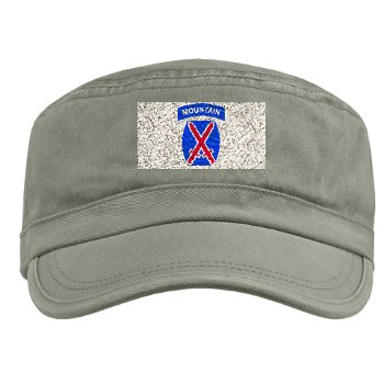 10mtn - A01 - 01 - SSI - 10th Mountain Division Military Cap