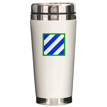 03ID - M01 - 03 - SSI - 3rd Infantry Division Ceramic Travel Mug