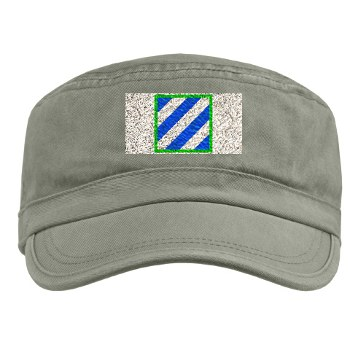 3ID - A01 - 01 - SSI - 3rd Infantry Division Military Cap